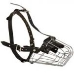Wire Basket Boxer Muzzle for Comfortable Walking and Training
