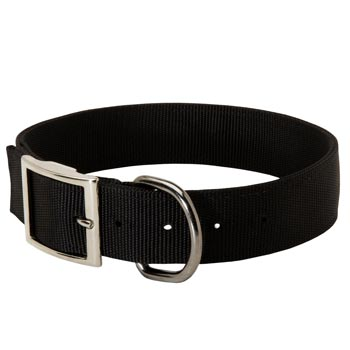 Nylon Boxer Collar with Adjustable Steel Nickel Plated Buckle